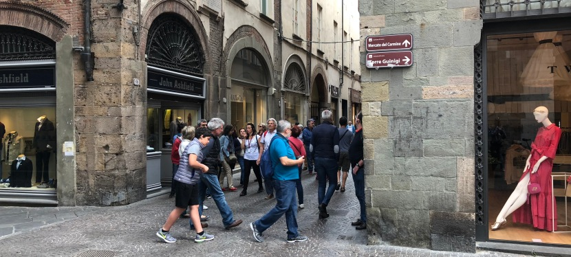 Walking Lucca