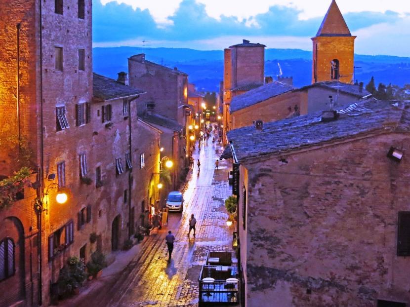 Hidden Tuscany: Yes touristy, but try CertaldoAlto